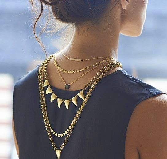 Bringing Sexy Back : Back Necklaces