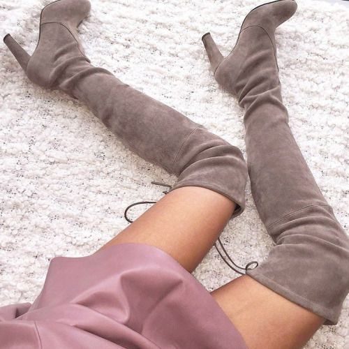 Sizzle In Thigh High Boots This Season