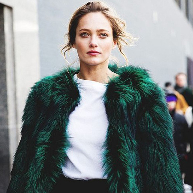 Trending: Faux Fur For Winter