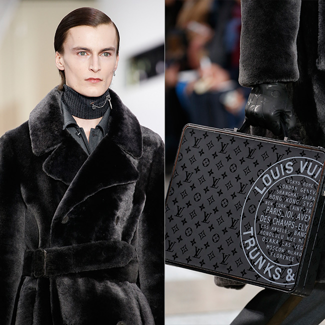 #PFW: Borrowing From The Boys At The Louis Vuitton FW16 Men's Show