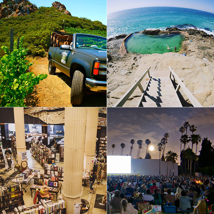 "CITY GUIDE : The Best ""Hidden Gems"" in Southern California"