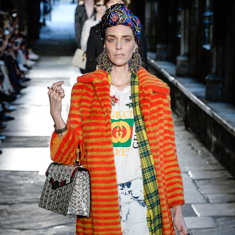 Gucci's 2017 Cruise Collection Takes Over Westminster Abbey