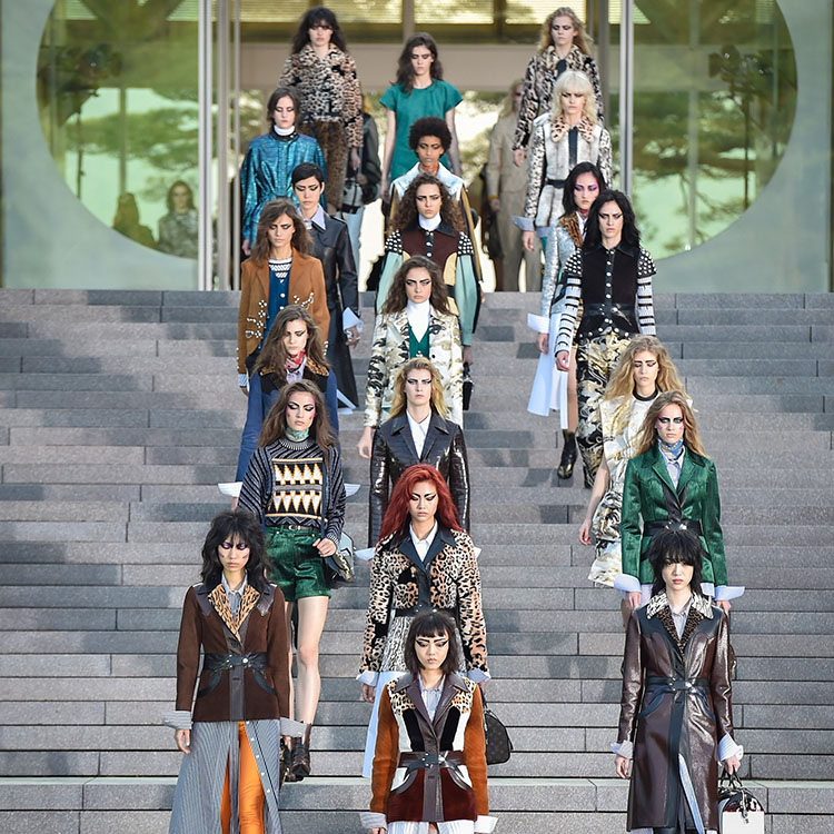 Front Row Diary: Louis Vuitton Cruise 2018