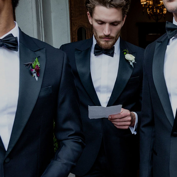 Wedding Style: The New Way For Your Guy To Rent A Tux (Or Suit)