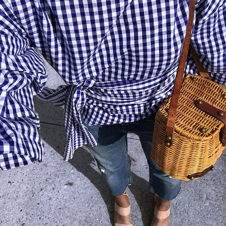 How The Basket Became Summer's Biggest Bag Trend