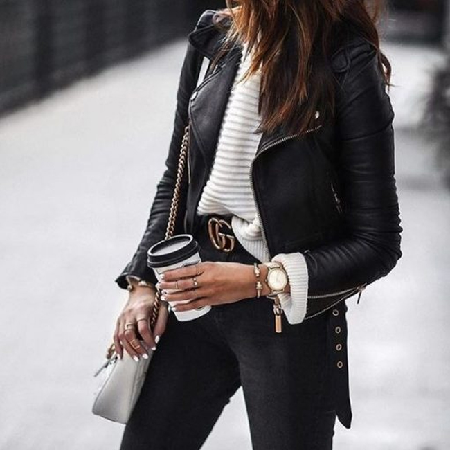 Leather Weather: 5 Leather Trends We're Loving