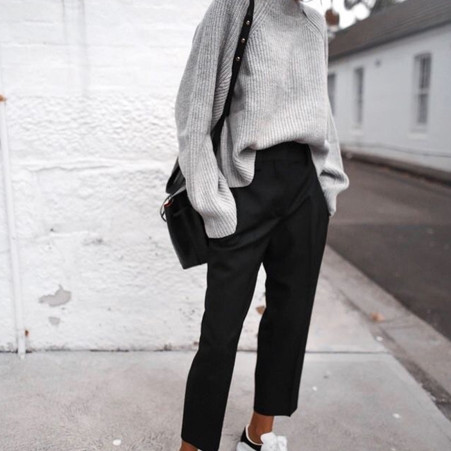 Slouchy Winter Vibes