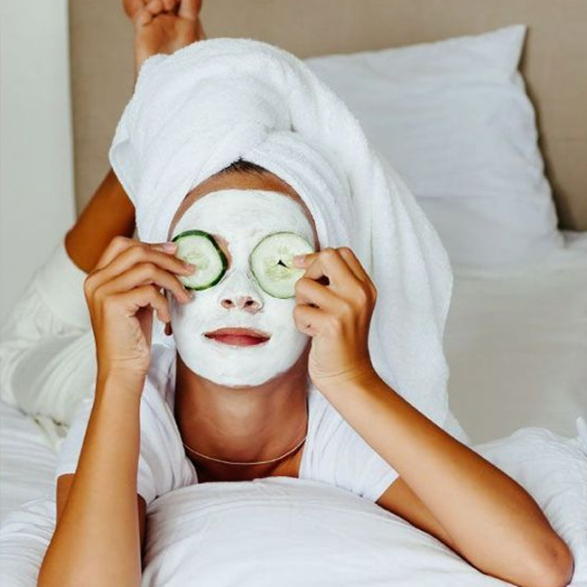 Take A Load Off & Pamper Yourself At Home This Holiday