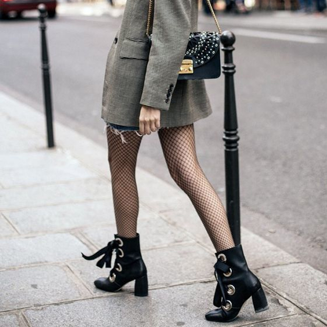 Trending: Layering Your Stockings