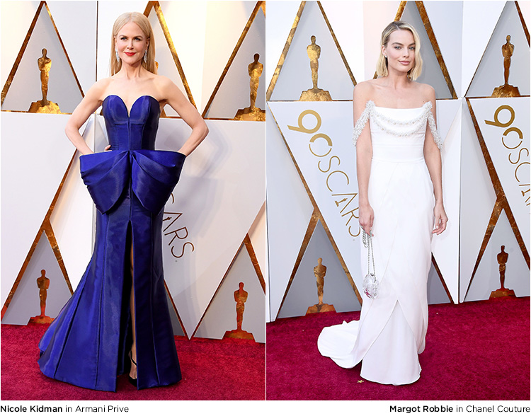 The Best Dresses And Trends From The Oscar 2018 Red Carpet