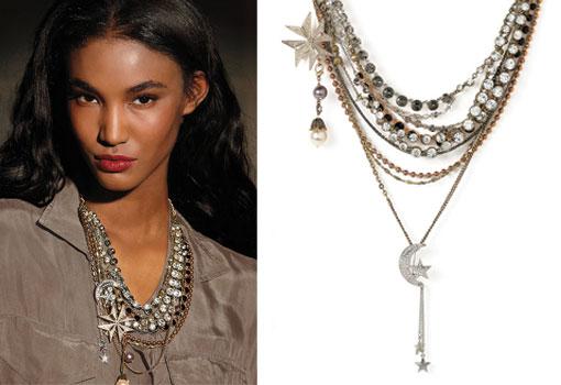 Sequin necklace