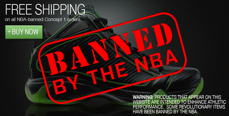 Athletic Propulsion Labs Concept 1 Basketball Shoes: Banned By The NBA