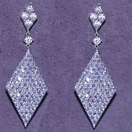 Martin Katz Rhumba Earrings On The Oscar Red Carpet