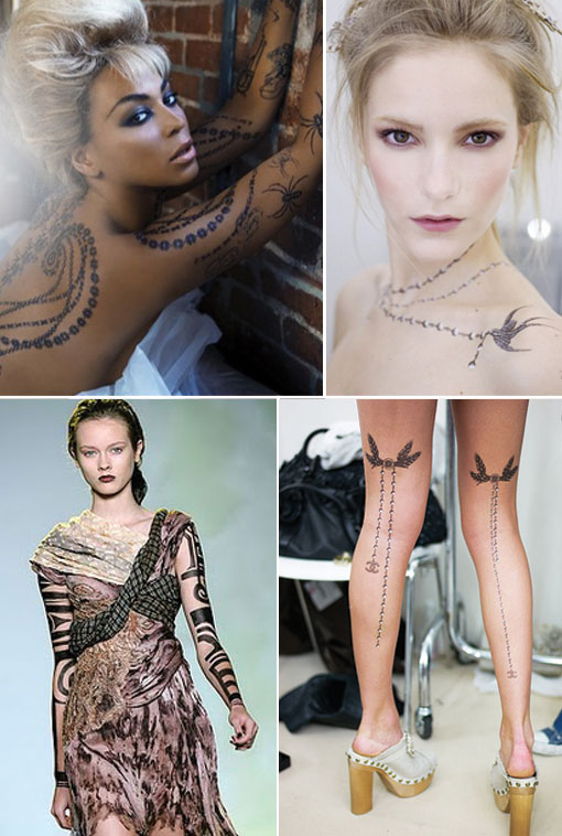 Hot Accessory Gets Hotter: Temporary Tattoos