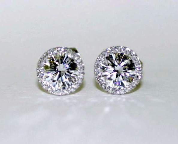 Holiday Sparkle With Classic Diamond Studs