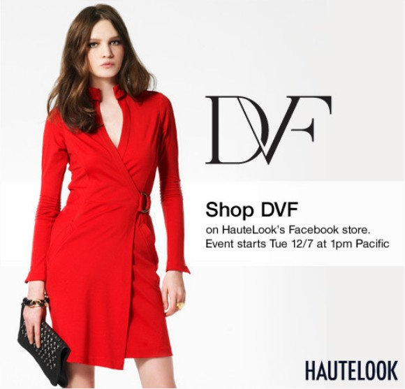 Haute Look DVF Event