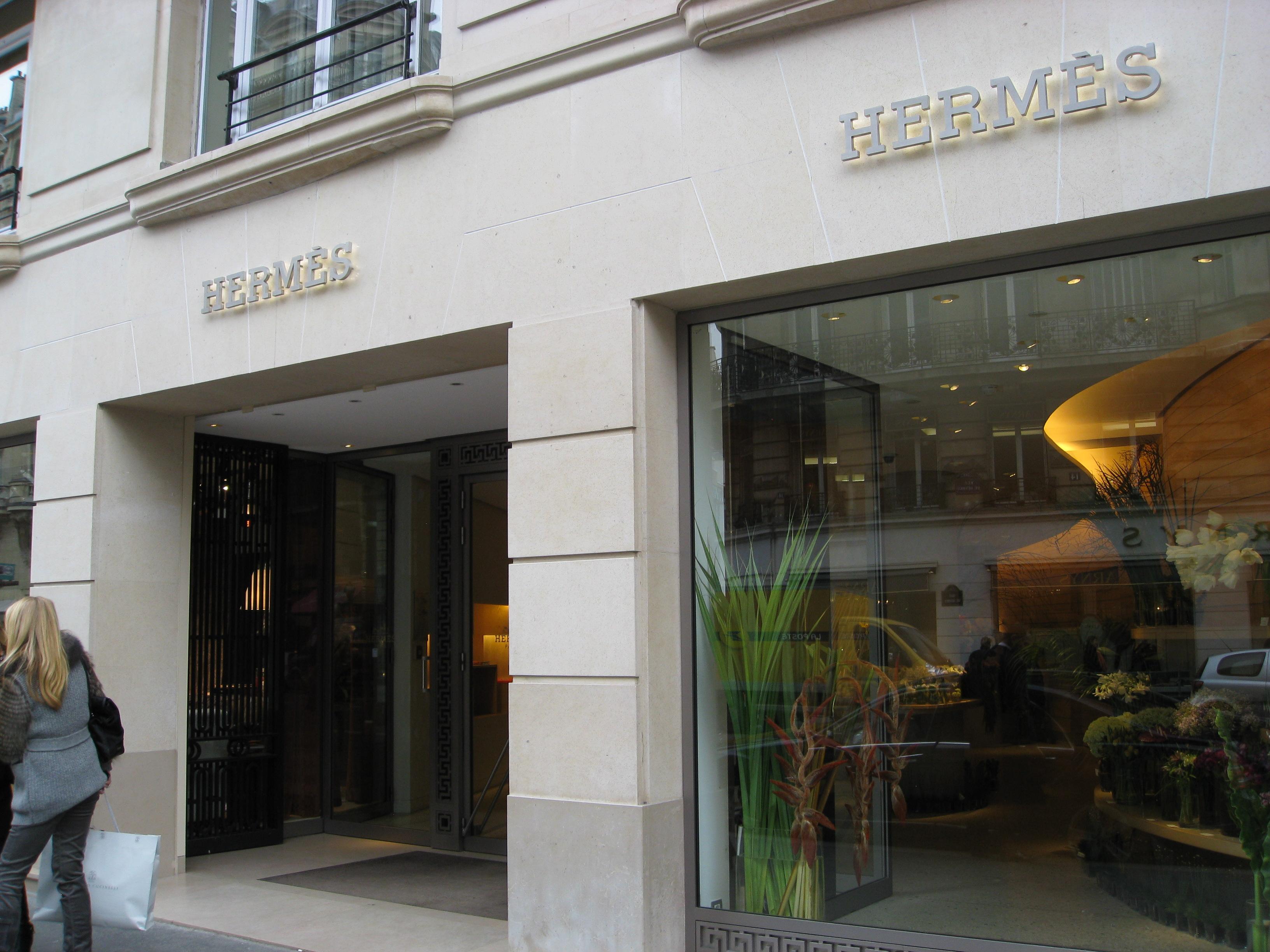 Hermes' New Store in Paris