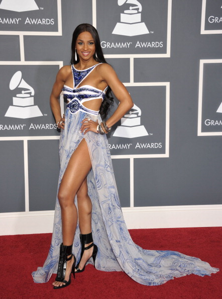 Pucci at the 2011 Grammy's