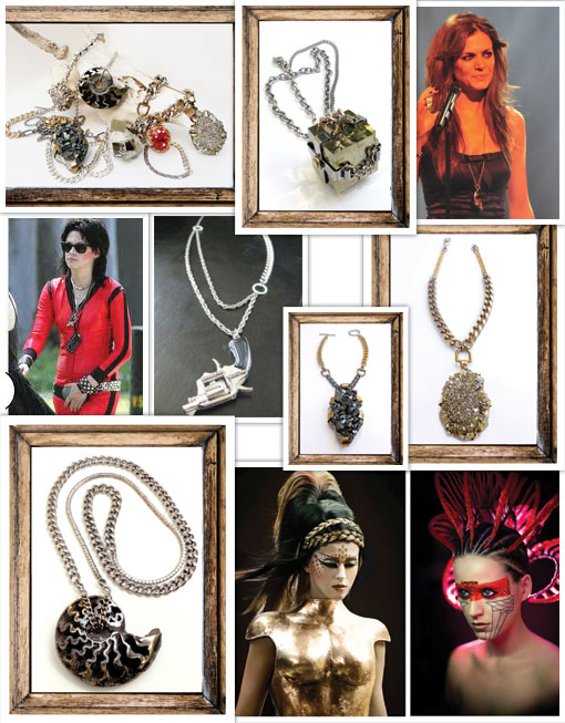 Jewelry: Michelle Laine