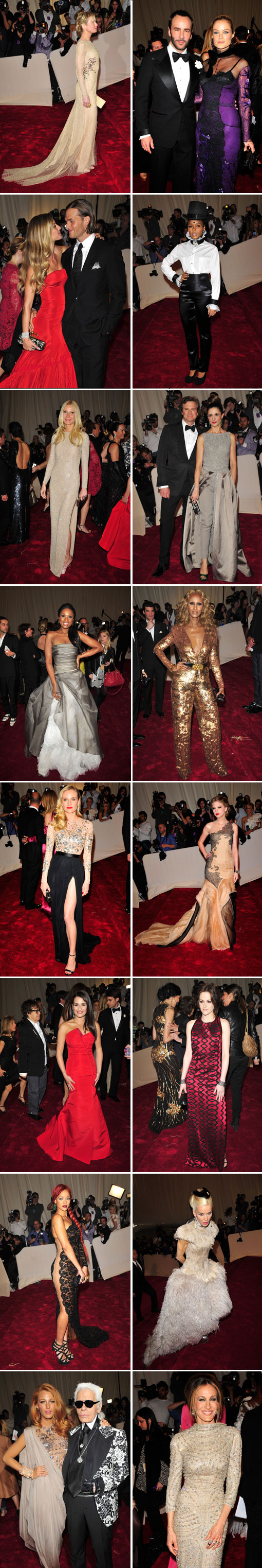 Red Carpet: Savage Beauty at The Met Costume Institute Gala