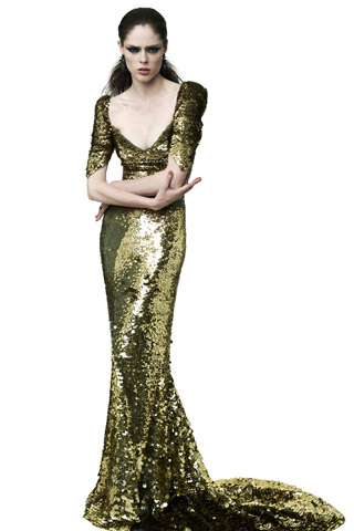 Zac Posen Resort 2012: Crushed Couture