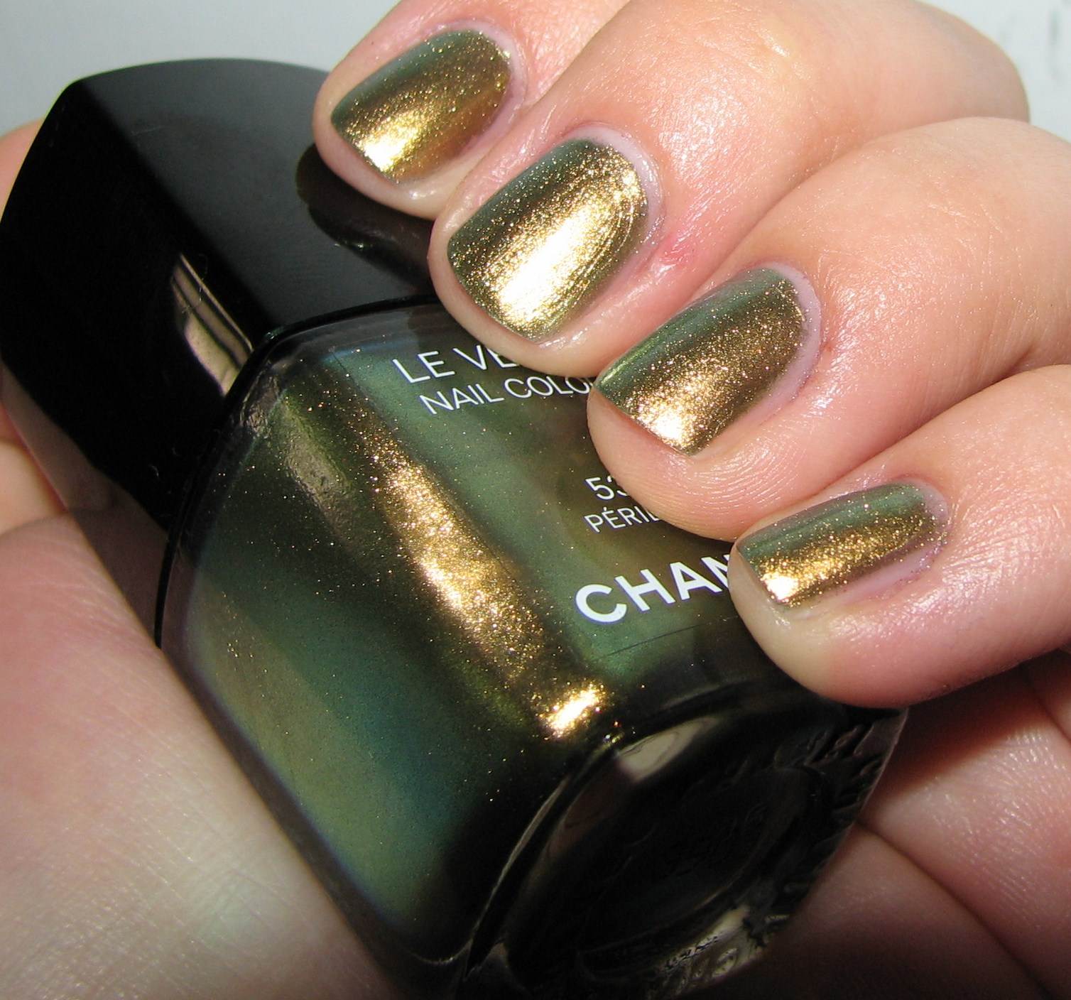 Nail Polish: Chanel Peridot