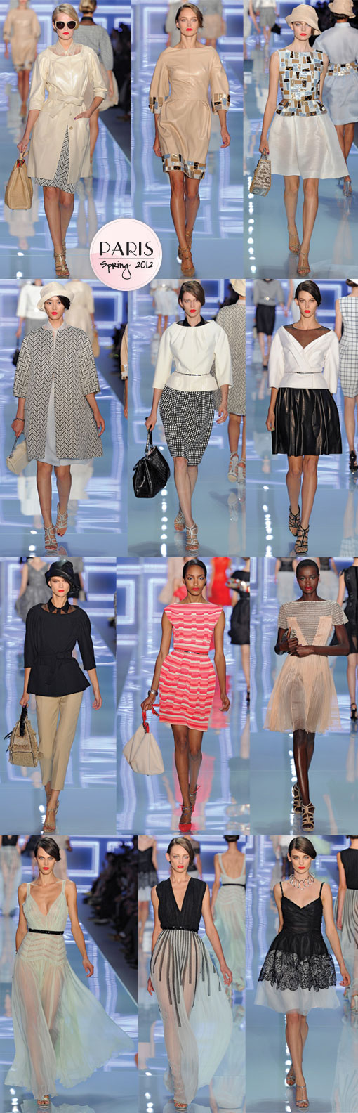 Christian Dior Spring 2012: The Pretty Is Back