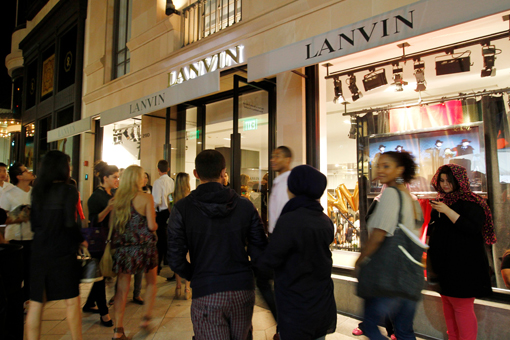 Lanvin Dances The Night Away For FNO
