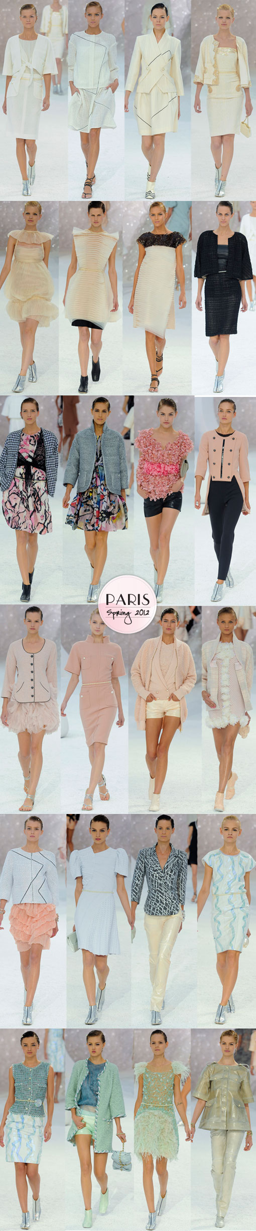 Chanel Spring 2012: A Dazzling Deep Dive