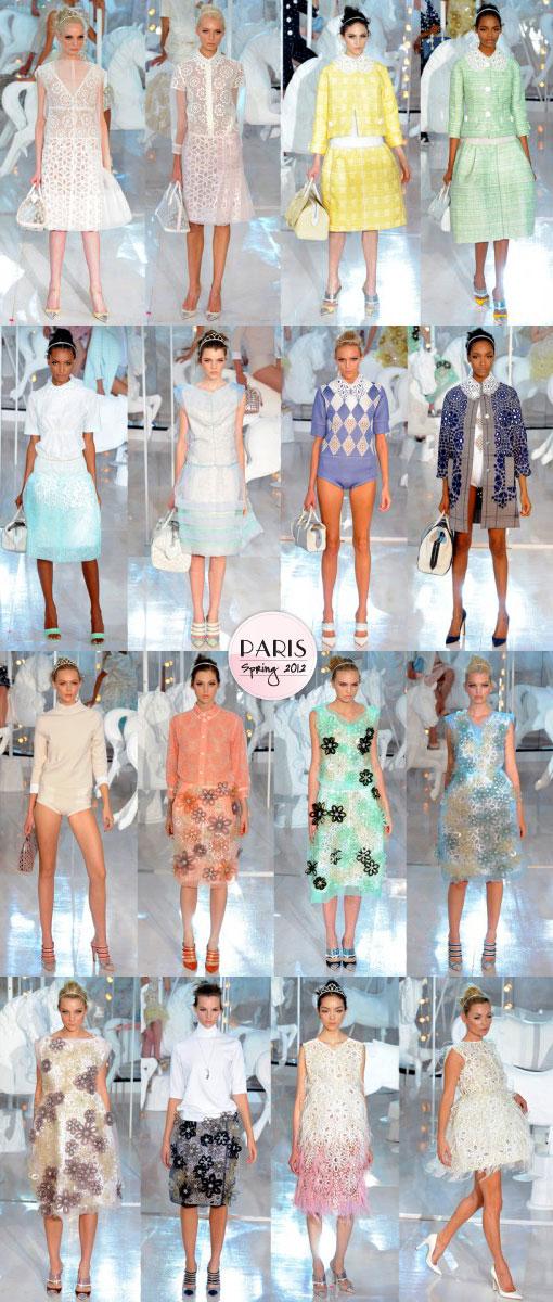 Louis Vuitton Spring 2012: Pop Princess