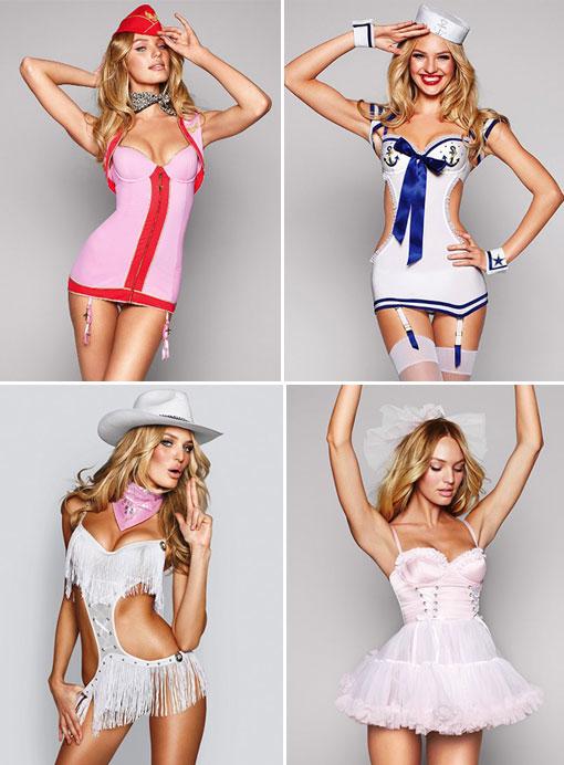 T  sc 1 st  The Blonde u0026 The Brunette & Victoriau0027s Secret Halloween 2011