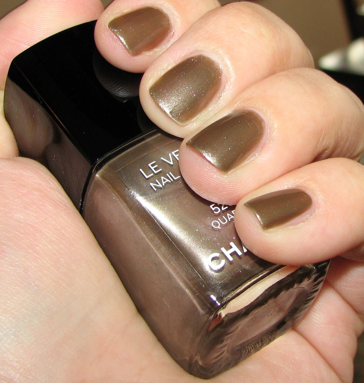 Nail Polish: Chanel Quartz