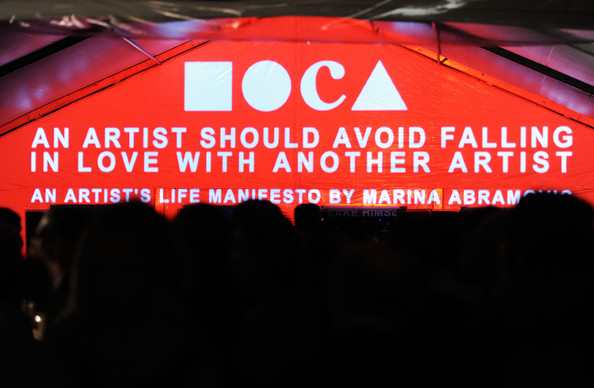 The 2011 MOCA Gala – Marina Abramović Experiments With All of Us!