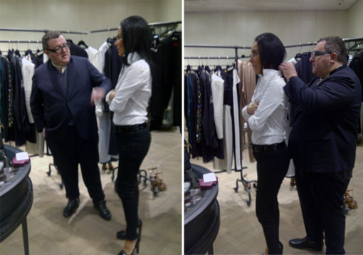 My Styling Rendez-Vous With Alber Elbaz