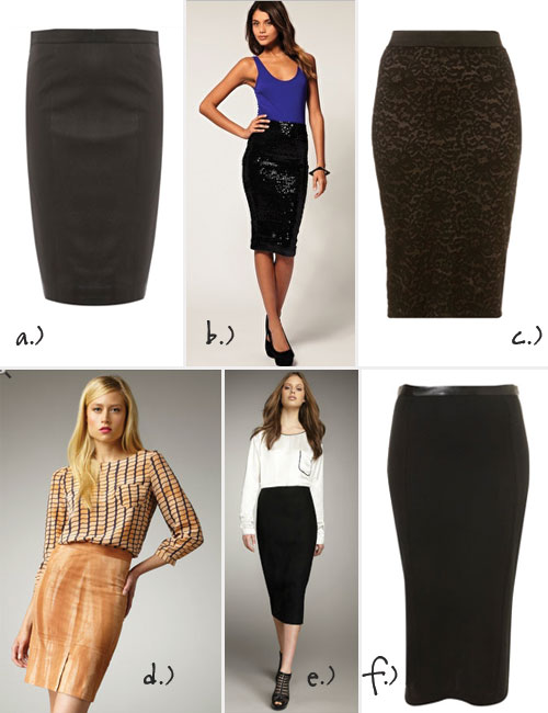 The On-Trend Pencil Skirt
