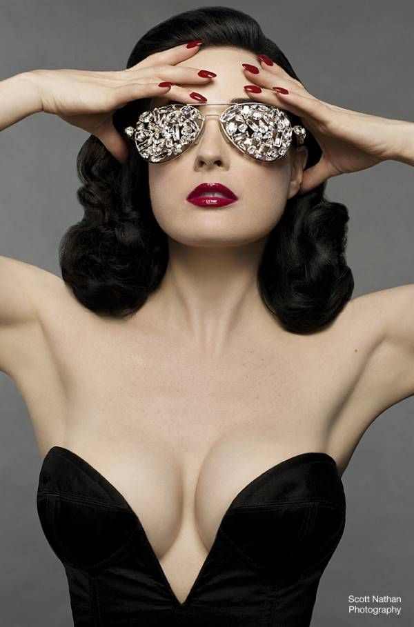 Target To Launch Von Follies Intimates By Dita Von Tesse For Valentine's Day