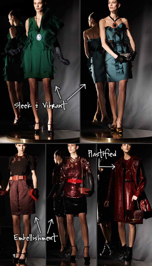 Lanvin Pre-Fall 2012 Collection Direct From NYC