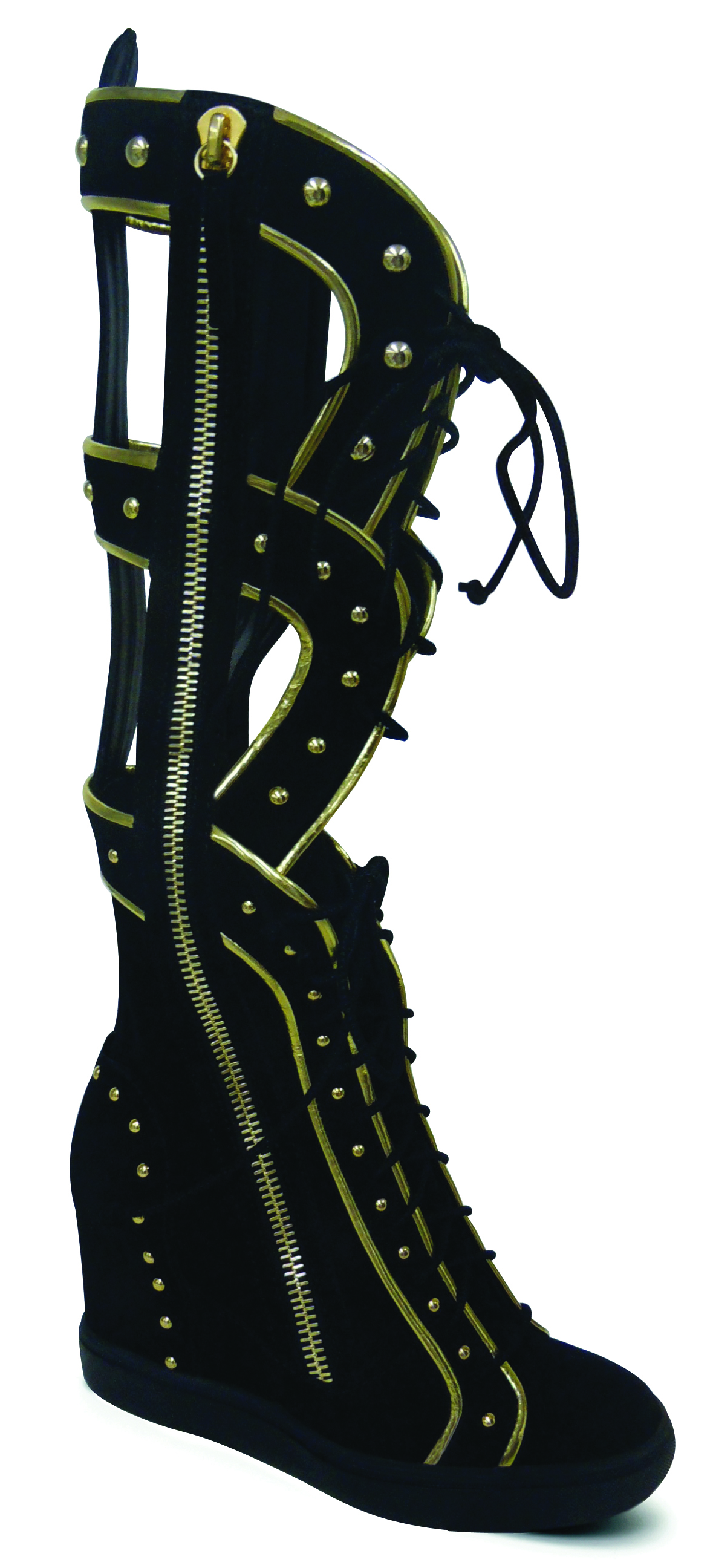 Giuseppe Zanotti For Nicki Minaj at The Super Bowl