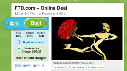 Get Your GroupOn With FTD.com & The Mercury Man