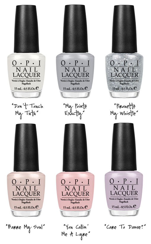 And Everything is Beautiful At The Ballet…NYC Ballet Nail Lacquers