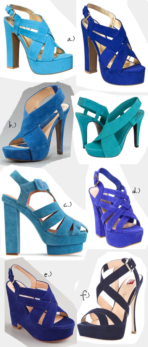 Lust or Must? Blue Suede Shoes