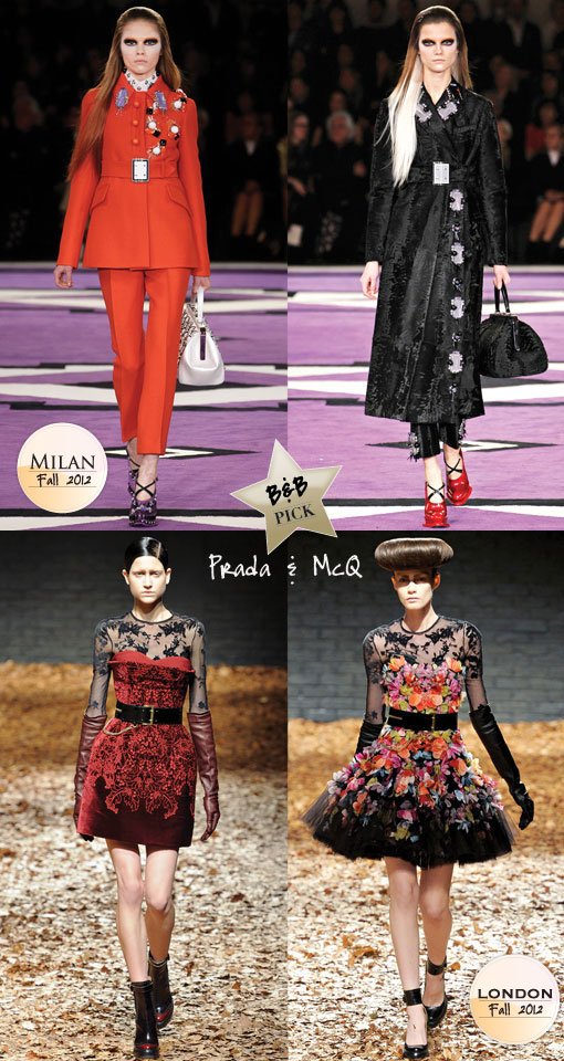 Fall 2012 Runway and Trend Report: Our B & B Style Favorites