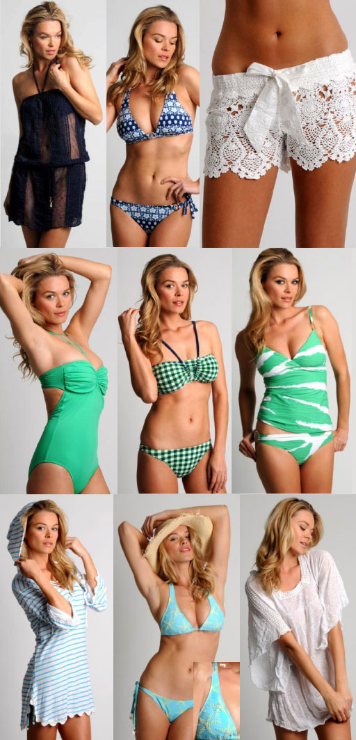 The Latest Beachwear From The Letarte Summer 2012 Collection