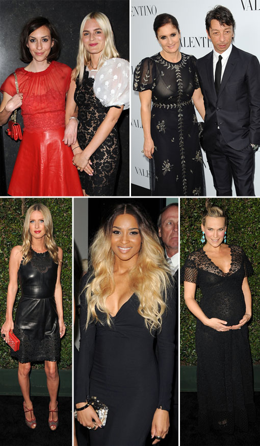 The Star-Studded Valentino Rodeo Drive Boutique Opening