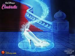 Christian Louboutin Creates Cinderella's Glass Slipper