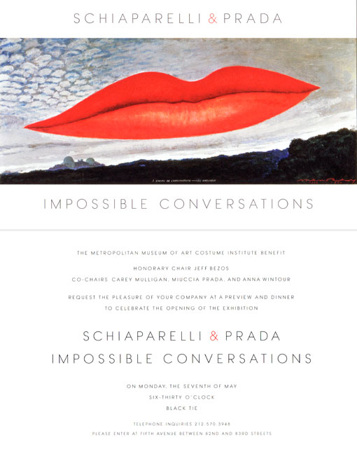 Impossible Conversations: Two Weeks and Counting As My MET Diary 2012 Takes Flight