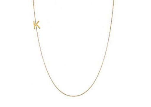 Maya Brenner's Letter Necklaces