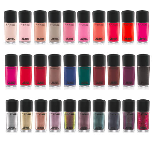 Introducing M.A.C.\'s Permanent Nail Polish Collection