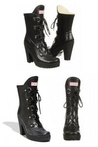 huge discount b3f62 b52c2 Hunter high heel. High Heel Rain Boots Archives - The Blonde ...
