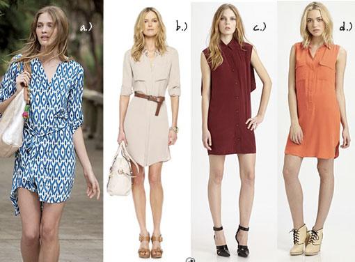 Trend Alert: The Shirt Dress
